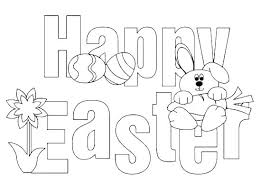 Free Easter Coloring Pages For Preschoolers Coloring