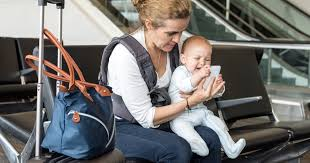 how to fly with your baby