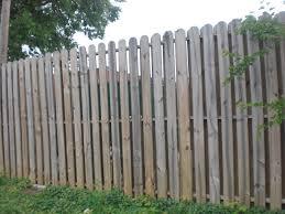 custom wood fence installed by charlotte fence company blueflag comapny of nc charlotte company e43