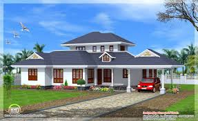 single floor villa indian house plans