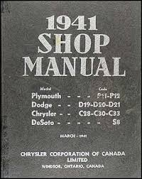 plymouth repair shop manual original related items