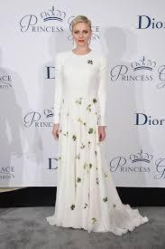 La principessa Charlene di Monaco in Dior