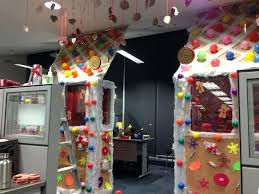 Office christmas decoration ideas themes Cube Office Decorating Themes Ideas For The Contest Christmas My Cubicle Full Size Halloweenfunnet Decoration Office Christmas Decoration Ideas