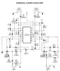 amplifier circuits audio amp electronic schematics page 2 links 2 watt stereo amp schematic