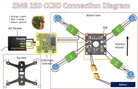 qav zmr 250 mini quadcopter drone build guide 11 steps (with Cc3d Wiring Diagram soldering the escs and attaching the pdb cc3d wiring diagrams for helicopters