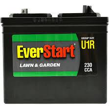everstart lead acid lawn garden