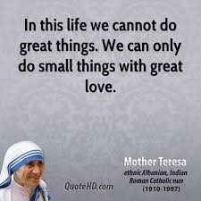 Mother Teresa Quotes Life Interesting Mother Teresa Quotes QuoteHD