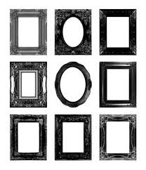 black antique picture frames. Black Antique Picture Frames. Isolated On White Background Stock Photo -  29243014 Frames T