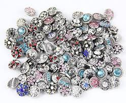 whole 20pcs lot mix styles colors 12mm small on snap jewelry interchangeable watch snap new on watch in chain link bracelets from jewelry