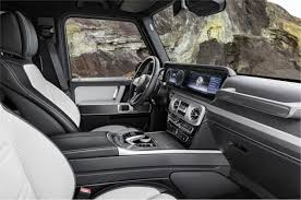Mercedes benz today launched its more affordable variant of the popular g wagon, also known as the g class. Mercedes G Class Interiors Design Dashboard Touchscreen Infotainment Specifications And More Autocar India