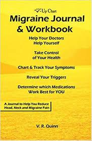Migraine Chart Check Up Chart Migraine Journal Workbook V R Quinn