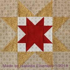 177 best Underground Railroad Quilt Blocks images on Pinterest ... & North Star quilt block #2. Made by Isabella Eisenbeil. Adamdwight.com