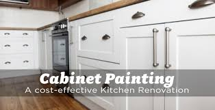 choose cabinet painting for a cost