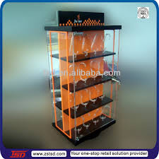 Standing Watch Display Case TSDA100 factory price watch display showcase counter top watch 12