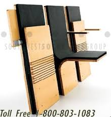 pact Folding Wall Mounted Chairs for Seating in Public Spaces