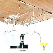 stemware storage cabinet bar