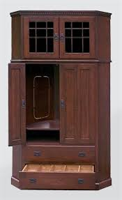 tall entertainment cabinet. Amish Tall Corner Entertainment Center Mission Or Shaker Style And Cabinet