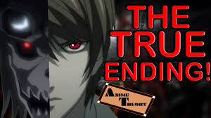 Death Note Light Death Anime Theory The Fate Of Light Death Note Theory