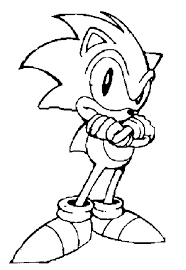 Sonic The Hedgehog Coloring Pages Coloringpagesabccom