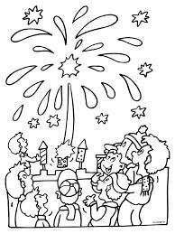 Happy New Year 2018 Vuurwerk Kleurplaat Frohes Neues Jahr Plakat