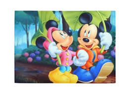 mickey mouse minnie mouse home decoration area rug modern