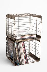 Could look great as wall-mounted storage. UrbanOutfitters.com > Wire Storage  Basket