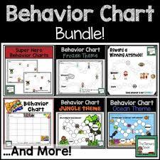 Online Behavior Charts For Teachers Behavior Chart Bundle
