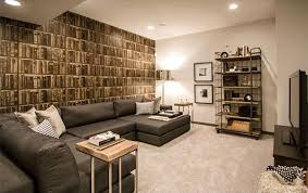 Basement Designers Adorable 48 Modern And Contemporary Living Room Basement Designs Home