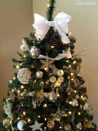 Christmas Christmas Tree Topper Ideas Living White And Gold Room