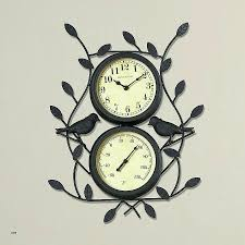 infinity retro wall clock beautiful 30 fresh outdoor wall clock scheme benestuff
