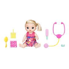 Hasbro <b>Baby Alive</b> C0957 <b>Кукла</b> Малышка у врача - купить по ...