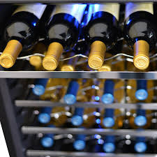 newair 28 bottle wine cooler.  Newair NewAir AW281E Classic 28 Bottle Thermoelectric Wine Cooler  Stainless  Steel With Newair 8