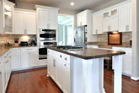 dark wood glamorous solid digital white kitchen countertops cabinets with
