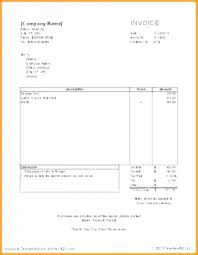 Self Employed Invoice Template Nice Best Templates Uk Invoive