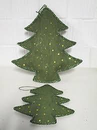 Dekoration 2 X Tannenbaum Baum Weihnachten Deko