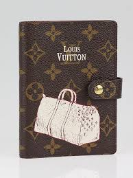 louis vuitton agenda. louis vuitton limited edition monogram canvas pm keepall small ring agenda cover c