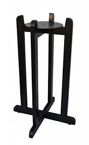 Amazoncom 30 Black Hard Wood Floor Stand Home Kitchen