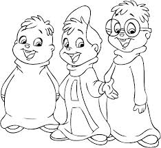 alvin and the chipmunks coloring pages chipmunk coloring pages and the chipmunks coloring pages and the