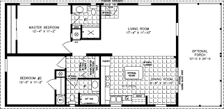 Mobile Home Floor Plans Manufactured Home Floor Plan The Imperial O Model  Imp 2 Bedrooms 5
