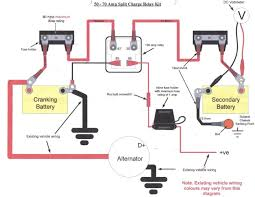 wiring in a split charge relay system landyzone land rover forum comments