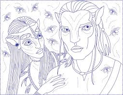 Small Picture Online Avatar Coloring Pages 69 In Free Coloring Book with Avatar