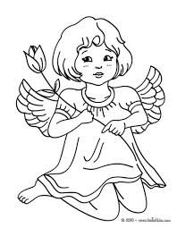 Small Picture CHRISTMAS ANGELS coloring pages 17 Xmas online coloring books