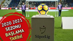 Süper Lig 2020 2021 yeni sezon tarihi: Süper Lig maçları ne zaman  başlayacak?
