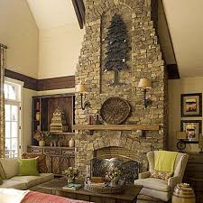 I Like The Indentation Decorating Pinterest Stone Fireplaces