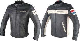 dainese street darker perforated leather jacket 30