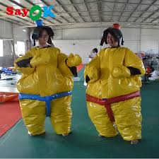 PVC fighting <b>inflatable sumo suits</b> for adults/sumo wrestling suits for ...