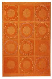excellent attractive orange area rug orange circa area rug rust envialette in orange area rugs modern