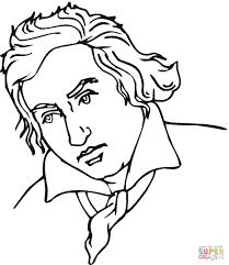 Ludwig van Beethoven coloring page ludwig van beethoven coloring page free printable coloring pages on beethoven worksheet