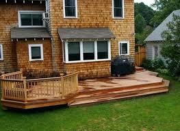 simple wood patio designs. Wood Patio Ideas Backyard Home Design Simple Designs . R