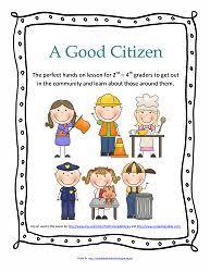 best good citizen ideas citizenship  a good citizen hands on learning project